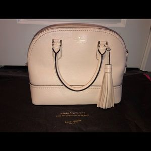 Never used!! Kate spade large dome satchel